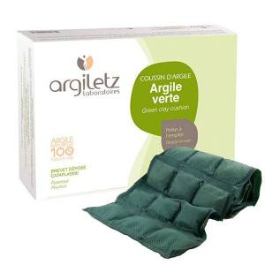 Argiletz Coussin d'Argile Verte 36 alvéoles - Publicité