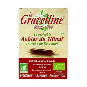 La Gravelline Aubier du Tilleul 30 ampoules - Publicité