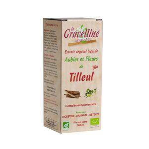 La Gravelline Extrait Végétal Liquide Aubier et Fleurs de Tilleul Bio 500ml - Publicité