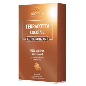 Biocyte Terracotta Cocktail Autobronzant 30 gélules - Publicité