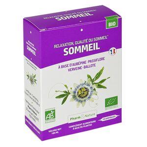 Pharm & Nature Sommeil Bio 10 ampoules - Publicité