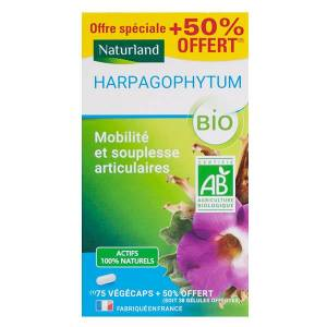 Naturland Harpagophytum Bio 75 végécaps + 38 végécaps Offertes - Publicité