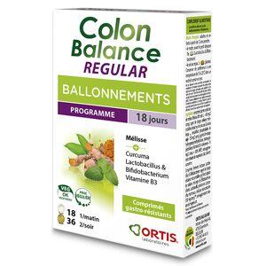 Ortis Colon Balance Regular Ballonnements 36 + 18 comprimés - Publicité