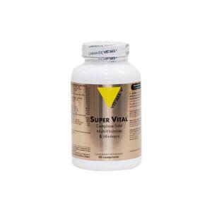 Vit'all+ Super Vital Complexe Total Multi-Vitamines et Minéraux 90 comprimés sécables - Publicité