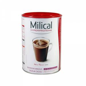 Milical Hyperprotéinée Boisson Saveur Chocolat Format Eco 18 Boissons - Publicité