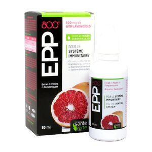 Santé Verte EPP 800+ Extrait de Pépins de Pamplemousse 50ml - Publicité