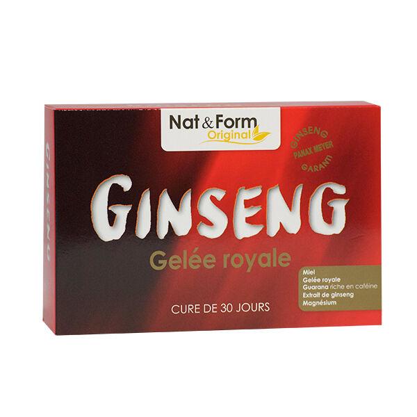 Nat & Form Original Ginseng Gelée Royale 30 ampoules