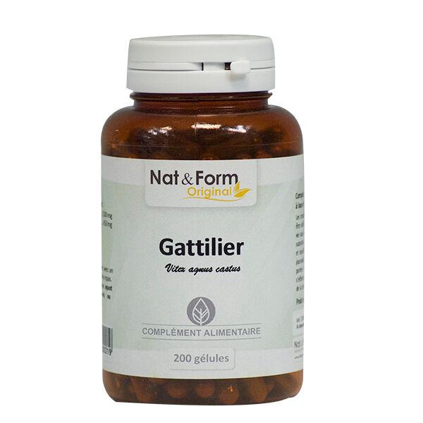 Nat & Form Original Gattilier 200 gélules