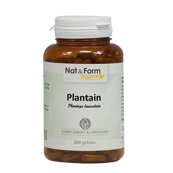 Nat & Form Original Plantain 200 gélules