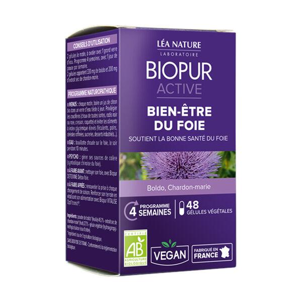 Biopur Active Bien-Etre Du Foie 48 gélules végétales