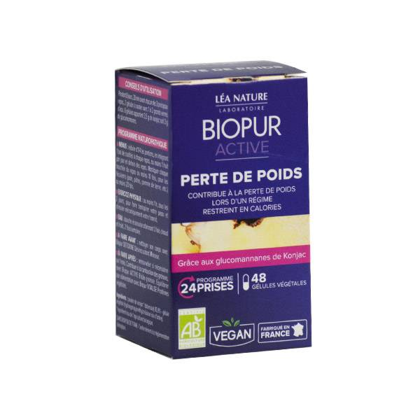 Biopur Active Perte de Poids Konjac Bio 48 gélules