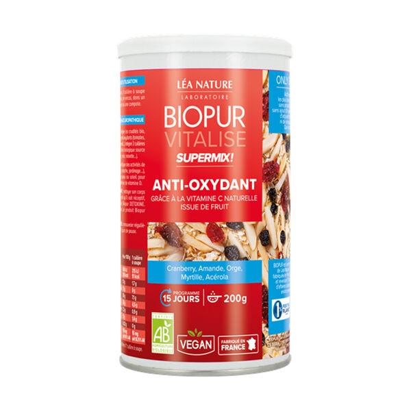 Biopur Vitalise Supermix Anti-Oxydant Myrtille Cranberry 200g