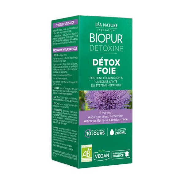 Biopur Detoxine Détox Foie Bio 200ml