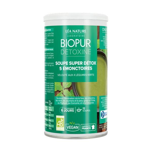 Biopur Detoxine Soupe Super Détox 5 Emonctoires 150g