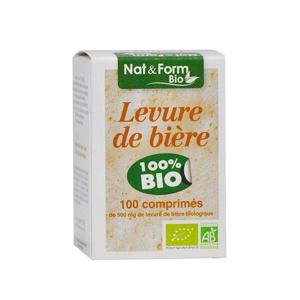 Nat & Form Bio Levure de Bière Non Revivifiable 100 comprimés