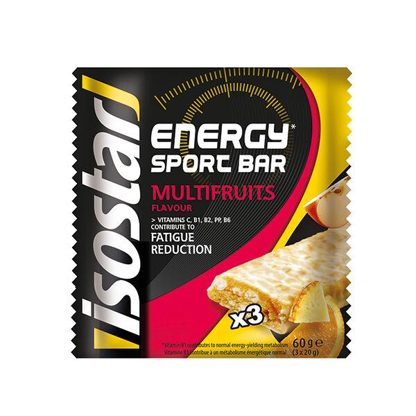 Isostar High Energy Sport Bar Multifruits 3 x 20g