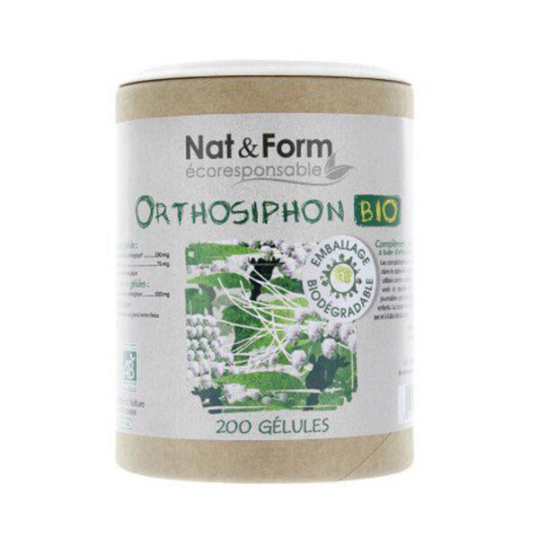 Nat & Form Eco Responsable Orthosiphon Bio 200 gélules végétales