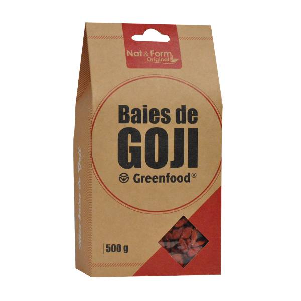 Nat & Form Eco Responsable Goji Greenfood 500g