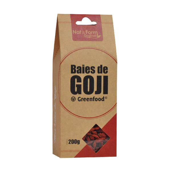 Nat & Form Eco Responsable Goji Greenfood 200g