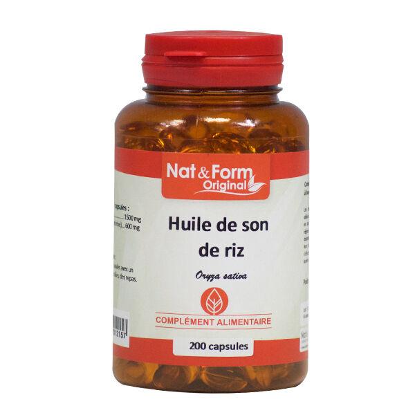 Nat & Form Original Son de Riz 200 capsules