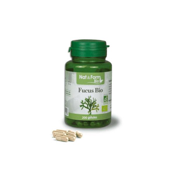 Nat & Form Bio Algue Fucus 200 gélules végétales