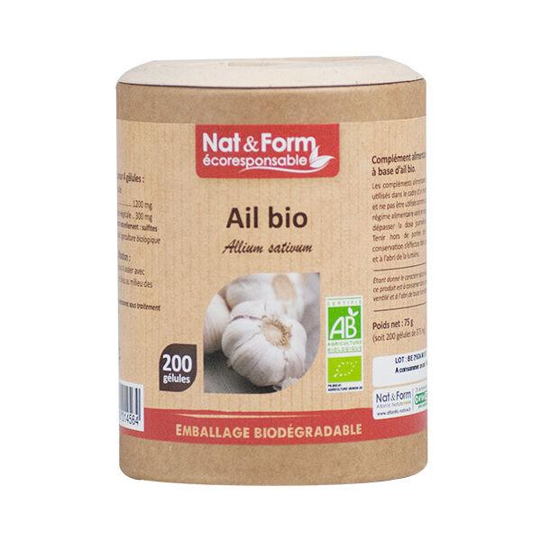 Nat & Form Ecoresponsable Ail Bio 200 gélules végétales
