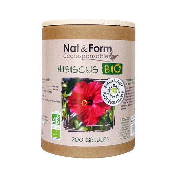 Nat & Form Bio Hibiscus 200 gélules végétales