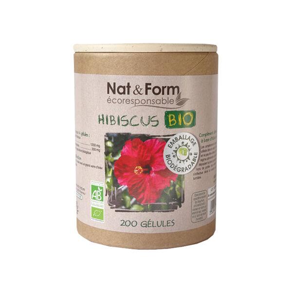 Nat & Form Ecoresponsable Hibiscus Bio 200 gélules végétales