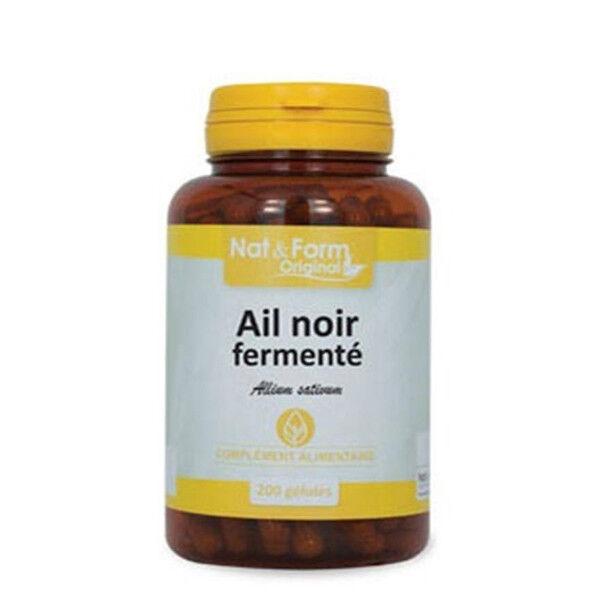 Nat & Form Original Ail Noir Fermenté 200 gélules