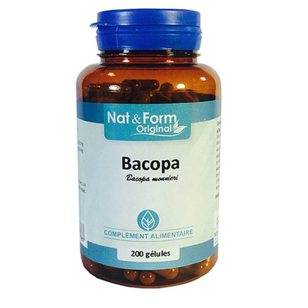Nat & Form Original Bacopa 200 gélules