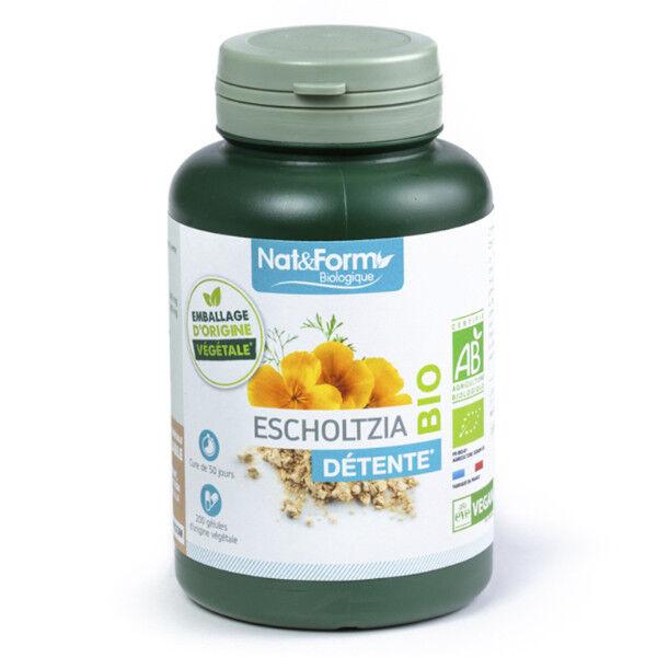 Nat & Form Bio Escholtzia 200 gélules végétales