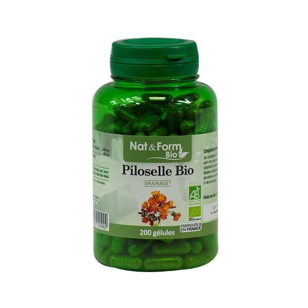 Nat & Form Bio Piloselle 200 gélules végétales
