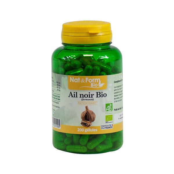 Nat & Form Bio Ail Noir 200 gélules végétales