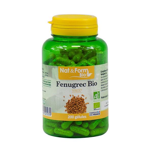 Nat & Form Bio Fenugrec 200 gélules végétales
