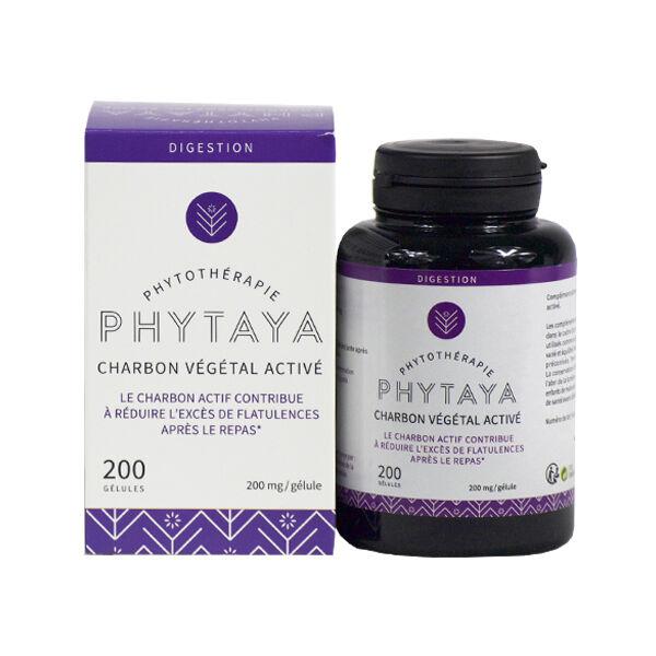 Phytaya Charbon Végétal Activé 200 gélules