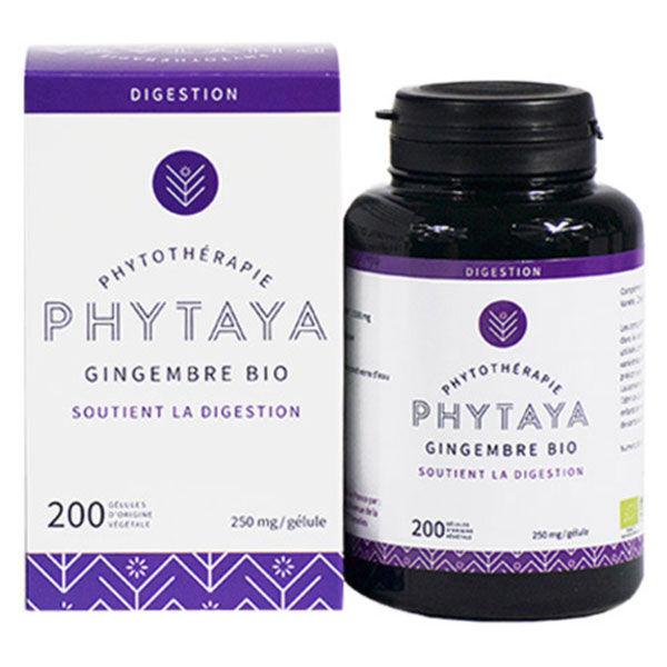 Phytaya Gingembre Bio 200 gélules