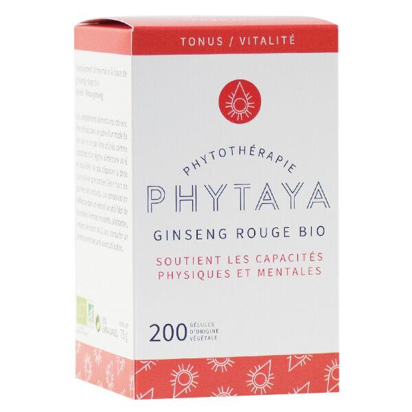 Phytaya Ginseng Rouge Bio 200 gélules