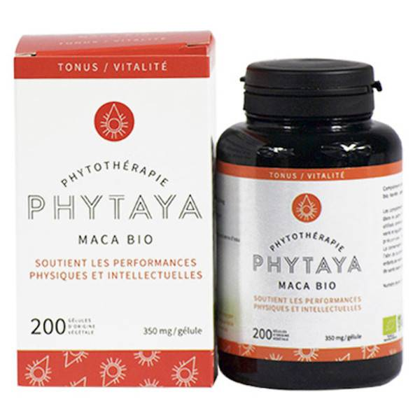 Phytaya Maca du Pérou Bio 200 gélules