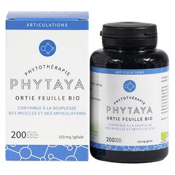 Phytaya Ortie Feuille Bio 200 gélules