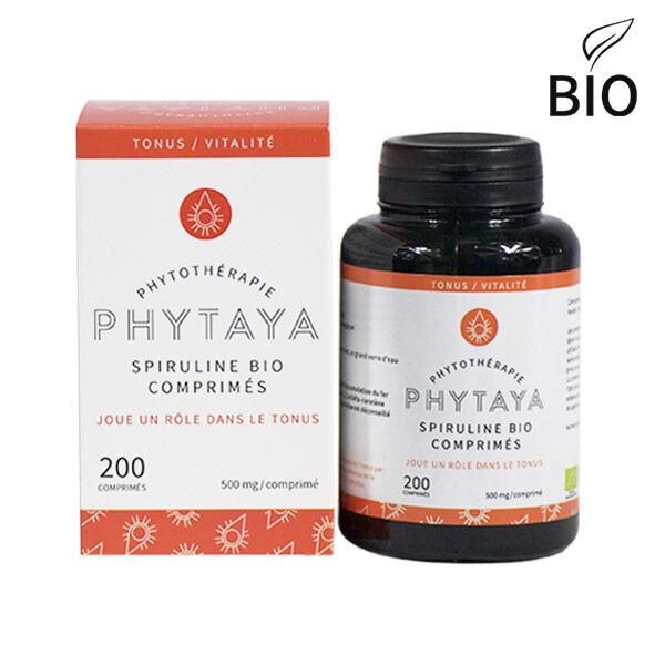 Phytaya Spiruline Bio 200 comprimés