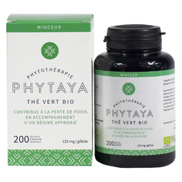 Phytaya Thé Vert Bio 200 gélules