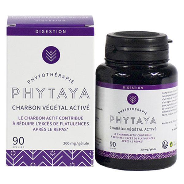 Phytaya Charbon Végétal Activé 90 gélules