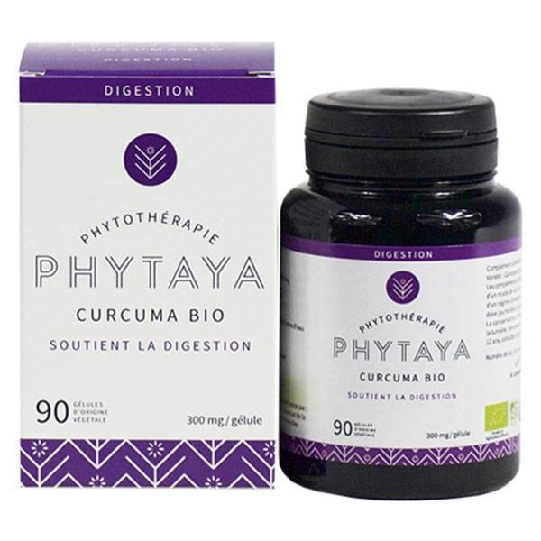 Phytaya Curcuma Bio 90 gélules