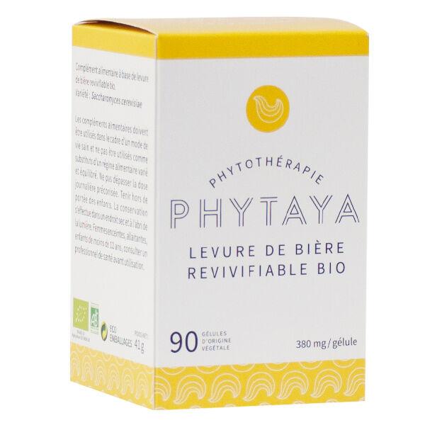 Phytaya Levure de Bière Revivifiable Bio 90 gélules