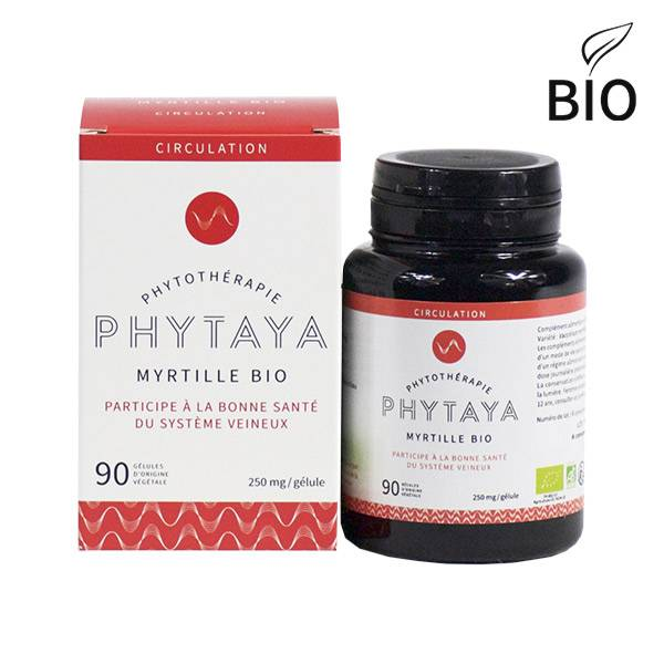 Phytaya Myrtille Bio 90 gélules