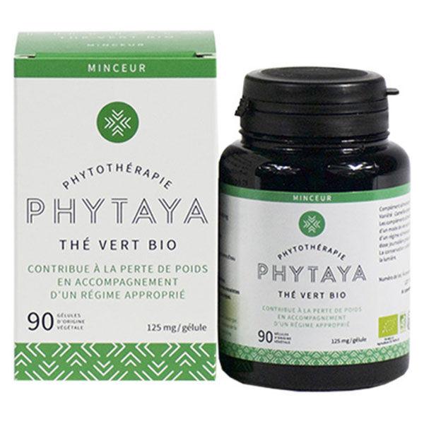 Phytaya Thé Vert Bio 90 gélules