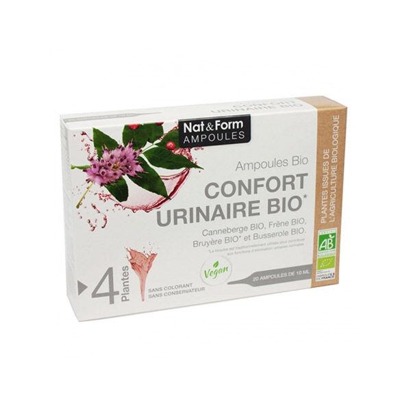 Nat & Form Confort Urinaire Bio 20 ampoules