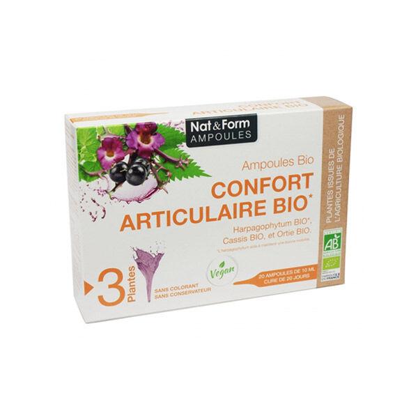 Nat & Form Confort Articulaire Bio 20 ampoules