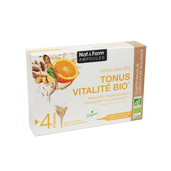Nat & Form Tonus Vitalité Bio 20 ampoules