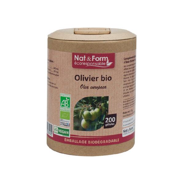 Nat & Form Eco Responsable Olivier Bio 200 gélules